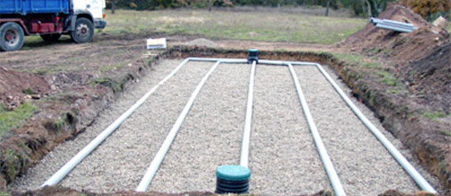 Zonage d'assainissement communaux avec cartes d'aptitude des sols et choix et dimensionnement des filières