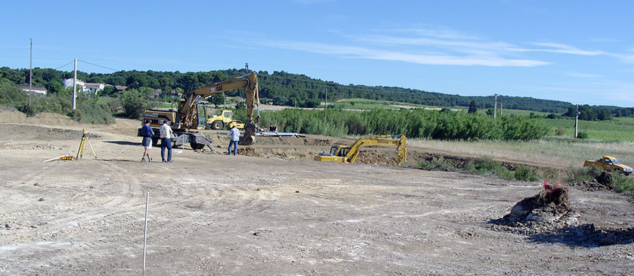 Assistance technique et contrôle en cours de chantier