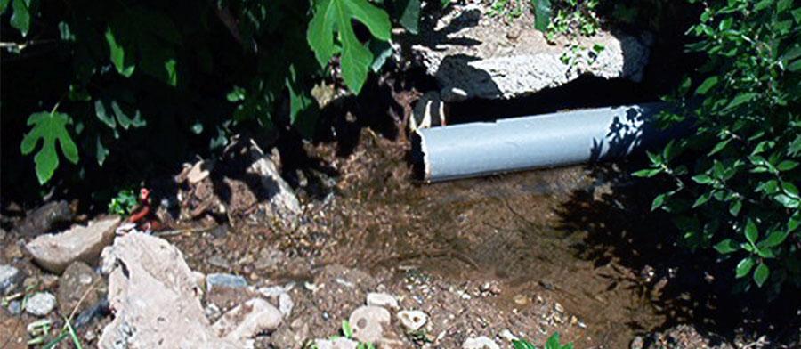 Expertise-diagnostic sur des problèmes de venues d'eau souterraine